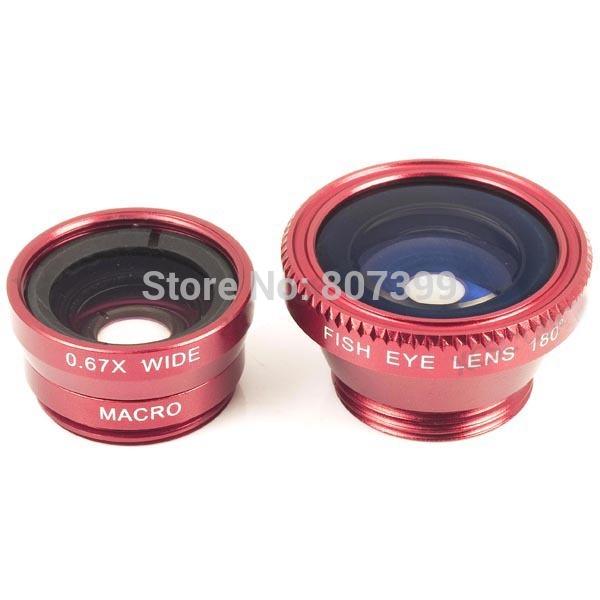 3 in 1 lentes para celular Macro Wide Angle for samsung galaxy S5 s4 S3 iphone-6-plus nokia appareil photo Fisheye fish eye len(China (Mainland))