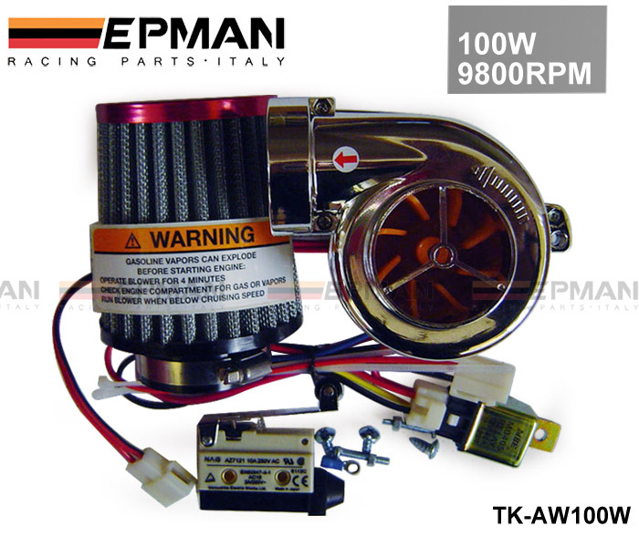 TANSKY - NEW MOTOR ELECTRICAL TURBOCHARGE 100W 9800RPM (TK-AW500-100W) FOR PIT PRO / TUMPSTAR / ATV QUAD BIKE 125CC/500cc(China (Mainland))