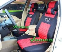 "Free Shipping+""Generic Version"" Seat Cover For TOYOTA Corolla Camry Rav4 Auris Prius Yaris Avensis With Silk Meterial+Logo"