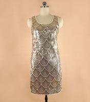 High quality Sequin casual dress,BLING BLING vestidos Paillette Club bandage dress,vestido de festa dress evening party dropship
