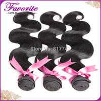Aliexpress 6a unprocessed Human Hair Mixed length 3pcs Best quality Brazilian virgin hair weaves body wave extension full bundle