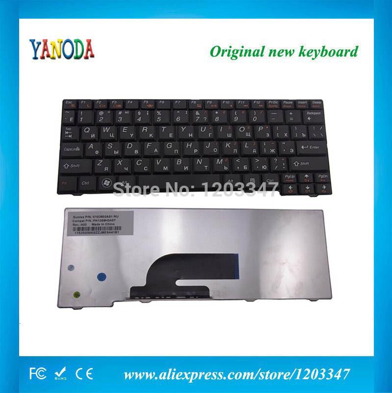 NEW Ru Russian Keyboard For Lenovo Ideapad S11 S10-2 S10-2C S10-3C V103802AS1 S11-RU 25-008441 MP-08F53SU-686 Black Laptop(China (Mainland))