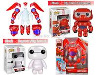 2015 Newest Transform Assemble 16cm Big Hero 6 Action Figure Toy,6 inch Funko POP Baymax transformations