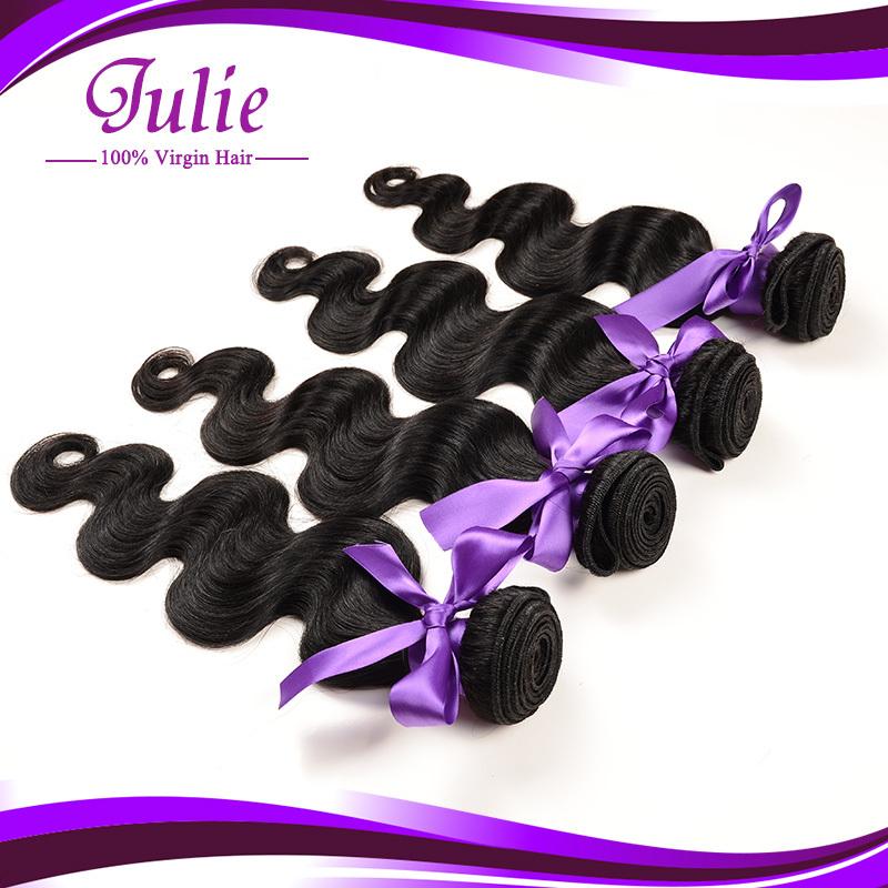 Brazilian virgin hair bundle deals 6A beauty brazilian body wave,100 grams/bundle 100% real human hair weaves free shipping(China (Mainland))