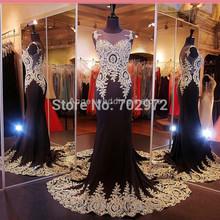 2015 Formal Fishtail Mermaid Elegant Long Party Evening Dress Prom Gown Women Back corss Vestidos de Gala Dress(China (Mainland))