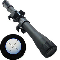 Hunting Telescopic Sight 4X20 Mounting 20mm Mount Optics Sniper Airsoft Riflescope for gun