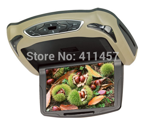 9 inch overhead Roof Mounting car DVD player(China (Mainland))