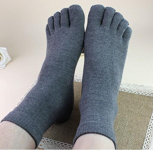 Bestselling Men women five toe socks cotton winter toe socks for men antibacterial deodorant sweat sport socks calcetines unisex(China (Mainland))