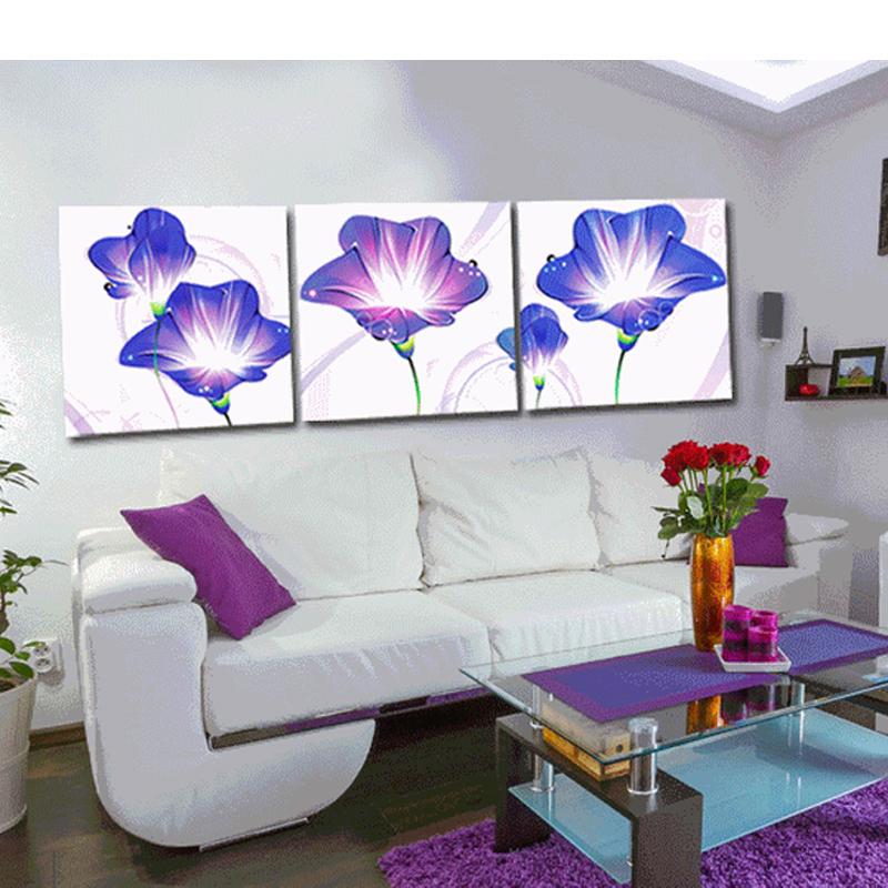 Diamond painting 5D Cross Stitch Needlework DIY Rose flower Permanent press Living room decorative painting diamond embroidery(China (Mainland))