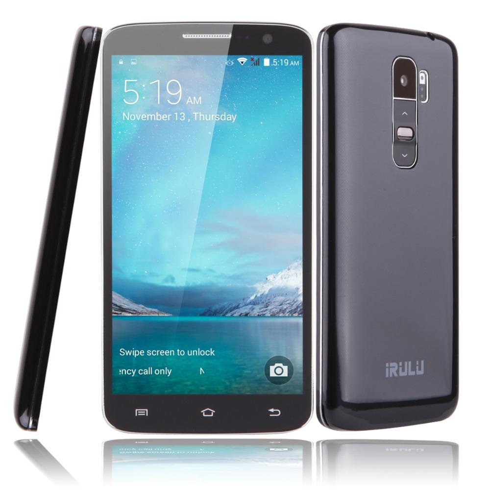 "IRULU Smartphone U2 5.0"" MTK6582 Android 4.4 Quad Core Brand Phone 8GB Dual SIM QHD LCD 13MP CAM Heart Rate Light Sensor Hot New(China (Mainland))"