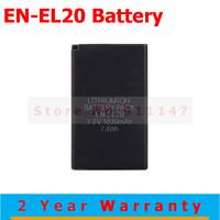 High Quality EN-EL20 ENEL20 EN EL20 Battery Batteries bateria for Nikon Coolpix A J1 J2 J3 S1 AW1 MH-27 digital camera