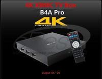 Original Measy B4A pro Android 4.4 TV Box 3D 4K XBMCQuad Core 2GHz Media Player bluetooth 4.0 Ultra HD Encording Format