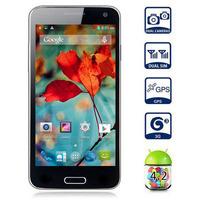 Mixc Star W800 Android 4.2 Smartphone 4.5'' Screen MTK6582 1.3GHz Quad Core 1GB 4GB ROM 8.0MP Camera WiFi GPS 3G WCDMA Russian