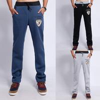 Men Design Trousers Fashion Sports Qualiy Pants Men Novelity Embroidery Design Trousers Male 3 Colors SIZE  XXL-XXXXL#NL1