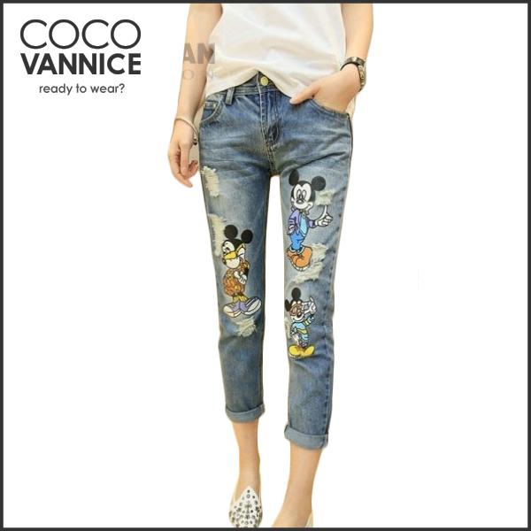 Женские джинсы COCO VANNICE 2015 XY 2069