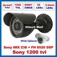 HD Megapixel Sony 1200TVL 36 Leds Outdoor Waterproof Video Surveillance IR-CUT Filter Security Night Vision IR 30M CCTV Camera