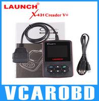 2014 newest OBDII Code Reader L-UNCURAN CReader V + OBD2 Scan Tool Gratis online update Support Multi- Bahasa