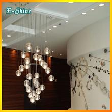 New Design Lustres BOCCI Magic Buble Glass Sphere Ball Pendant Light Living Room Stair Lighting Ceiling Lamps G4 LED Bulb(China (Mainland))