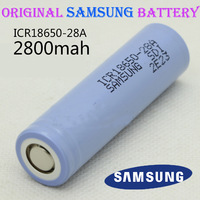 4pcs/lot 3.7V 2800mAh New Original SAMSUNG 18650 Rechargeable Battery ICR18650-2800F Safe Batteries Industrial Use Free Shipping