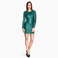new spring and summer sexy backless deep V Sequin gauze bag hip slim dress