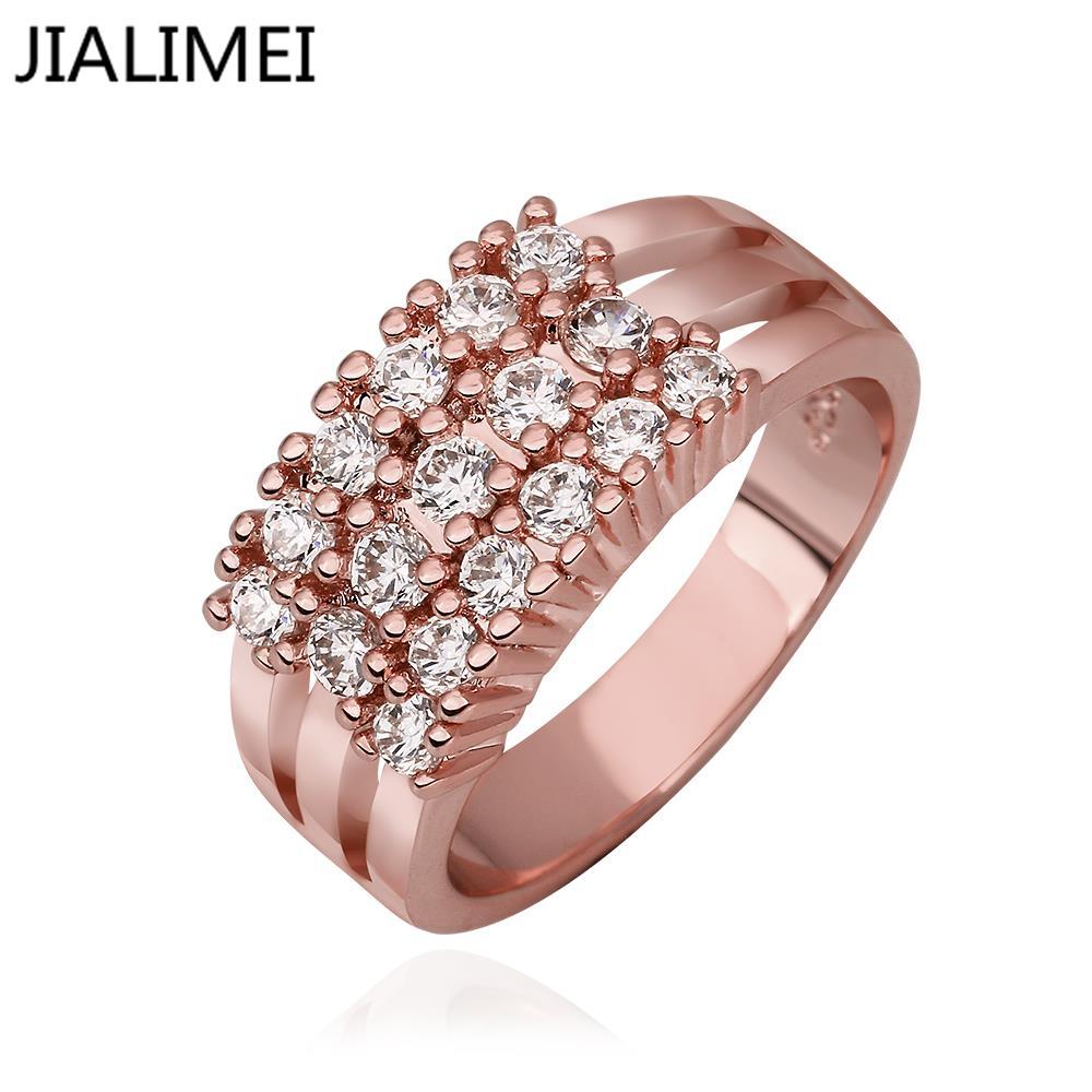 Кольцо JIALIMEI R594 QualityNickle AntiallergicNew 18 k PlatedRing R594 R595 кольцо для помолвки other qualitynickle r594 antiallergicnew 18 k platedring r594 r595