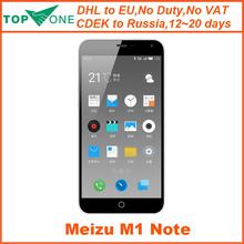 """Original Meizu M1 Note Meiblue M1 Note  Mobile Phone MTK6752 Octa Core 5.5"""" 1920x1080  13MP 3140mAh(China (Mainland))"""