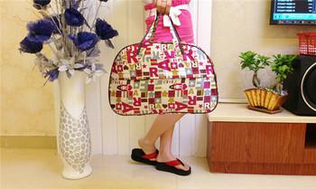 2015 новинка водонепроницаемый оксфорд женщины красочные дорожная сумка большая ручная кладь сумки G094
