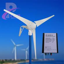 Бесплатный генератор энергии 600 Вт / 24 В ветрогенератор комплекты + макс 600 Вт 24 В контроллер для энергии ветра турбины заряд для аккумулятор