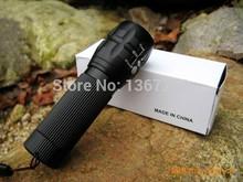 2015 lanterna 2000 lumens baton free led practical Zoomable LED Flashlight Torch light For camp Flashlight(China (Mainland))