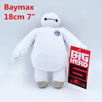 2015 новый Baymax большой герой 6 плюшевые игрушки куклы 18 см 30 см 38 см оптовая продажа розничная сумка мягкие плюшевые подарок