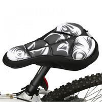 SAHOO 3 Colors New Cycling Bike Saddle Comfortable  Absorbent Cushion Soft Pad Bicycle Seat Cover Bike Saddle Cover