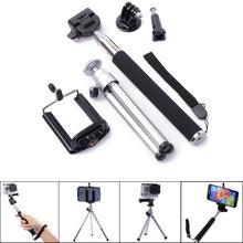 Camera self-timer GoPro tripod bracket of mobile phone cell phone camera selfie stick photo camera tripod