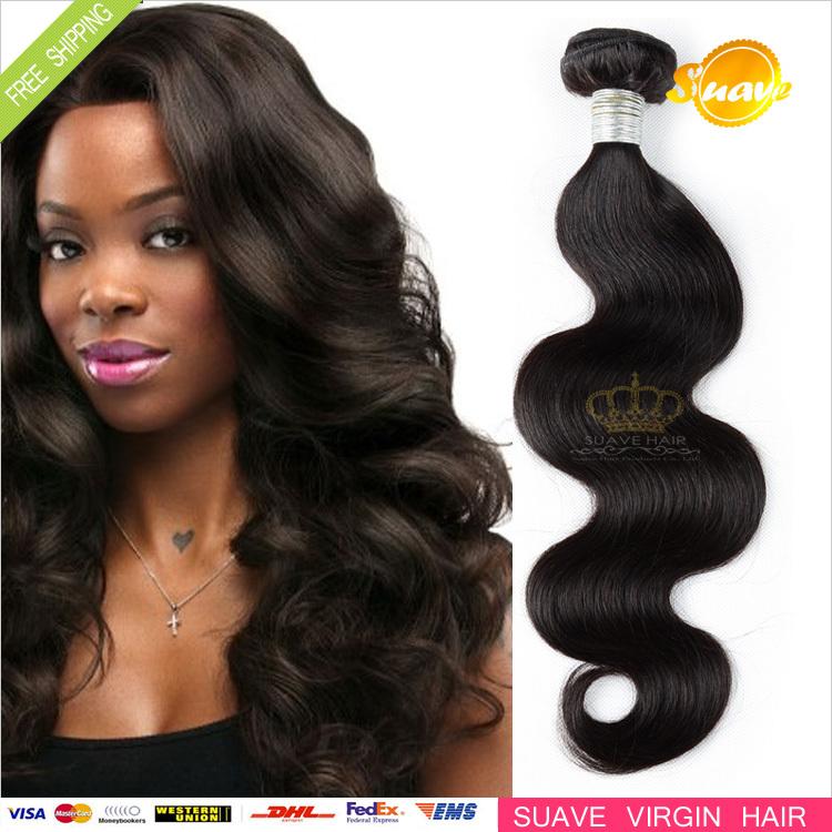Indian Hair Weave Body Wave Virgin Indian Hair Weaves