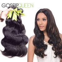 "On sale 6A brazilian virgin hair body wave 3 pcs lot free shipping 8""-30"" cheap unprocessed remy 100 brazilian virgin hair"