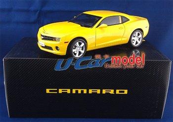 1pcs/lot  1:18  CHEVROLET CAMARO  Diecast Model Car (New Arrival) Yellow