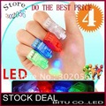 4000pcs/lot Free Shipping Halloween Gift LED Finger light  LD003