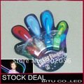 50set/lot Free Shipping/Halloween Gift LED Finger light(4PCS/SET Card Packing) LD003B