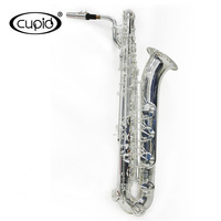1318S Cupid Brand /Professional Silver Plated  Baritone Saxophone with case