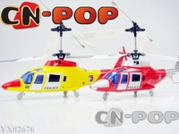 New 4CH RC helicopter more stable flight radio remote control helicopters larger copter toys 9pcs/lot