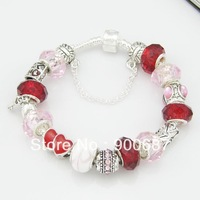 EVPDLSL (32) Promotion Hot Sellingchamilia beads crystal charm bracelets.fashion jewelry crystal beads bracelet for woman