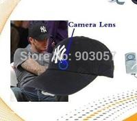 Hotsale Fashion popular Mini Hidden Camera Cap DVR Camera Hat hidden Camcorder Video Recorder Free Shipping