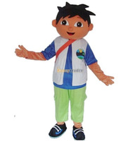 Wholesale High Quality DIEGO Mascot Costume Cartoon Mascot Costume Christmas Mascot Costume Free Shipping FT30010