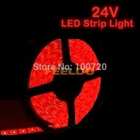 24V Red 5 Meter LED Strip Light 300 Leds 500cm 1210 SMD #FD-1755