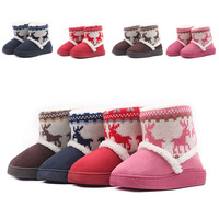 Children's fashion boots wool winter children in the child warm boots snow boots, cotton boots