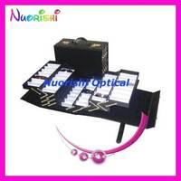 A080  folding glasses suitcase    eyeglass suitcase    eyewear suitcase