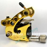 10 wrap coils Danny fowler tattoo machine tattoo gun FREE SHIPPING LM008 strong power