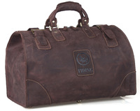 Men Travel Bag Large Capacity Luggage & Travel Duffle Wild Style Real Leather Vintage Style Tote  TIDING8151
