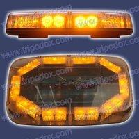 """11"""" LED Mini-Lightbar red/blue/amber/white LED-2322H"""