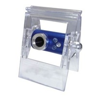 Crystal clip webcam, USB PC camera,Popular cheap webcam,Free shipment
