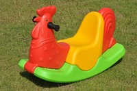 BEST SELLING PLASTIC ROCKING HORSE SPRING HORSE RIDE ON TOYS  OUTDOOR PLAYGROUND TOY  KIDS PLAY TOY